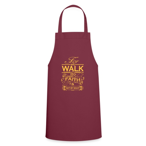 walk yellow - Cooking Apron