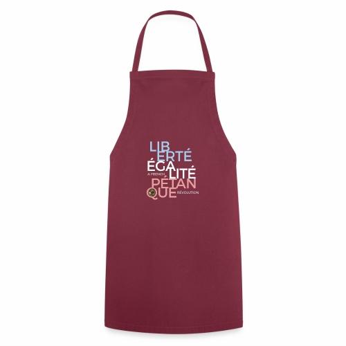 LIBERTE EGALITE PETANQUE - CLAIR - Tablier de cuisine