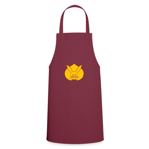 Usagi kamon japanese rabbit yellow - Cooking Apron