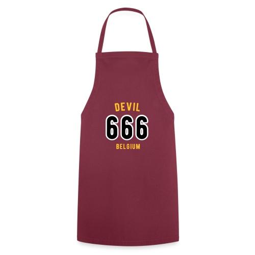 666 devil Belgium - Tablier de cuisine