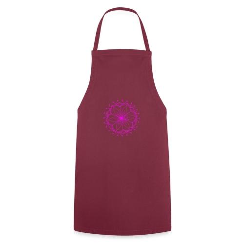 Pink Lotus Mandala - Cooking Apron