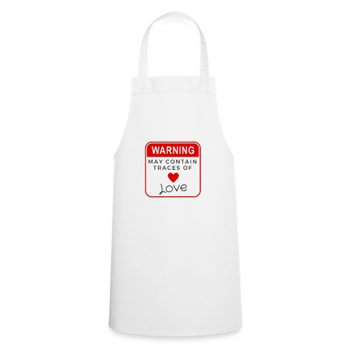 MAY CONTAIN TRACES OF LOVE - Cooking Apron