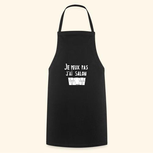 Je Peux pas j ai salon - Tablier de cuisine