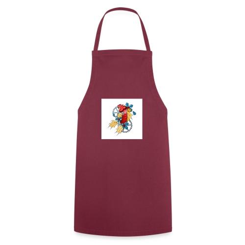 logo carpe mecanique - Tablier de cuisine