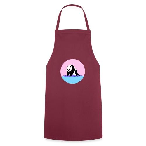 Yoga panda downward dog namaste - Cooking Apron