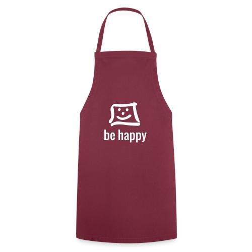 be happy by happy-pixel - Kochschürze