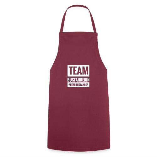 Team Busfahrerin #herrbusfahrer - Kochschürze