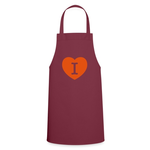 I - LOVE Heart - Cooking Apron