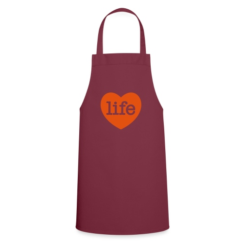 LOVE LIFE heart - Cooking Apron