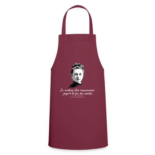 Sainte Therese patronne des missions - Tablier de cuisine