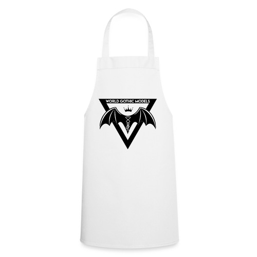 World Gothic Models Official Logo Design - Cooking Apron