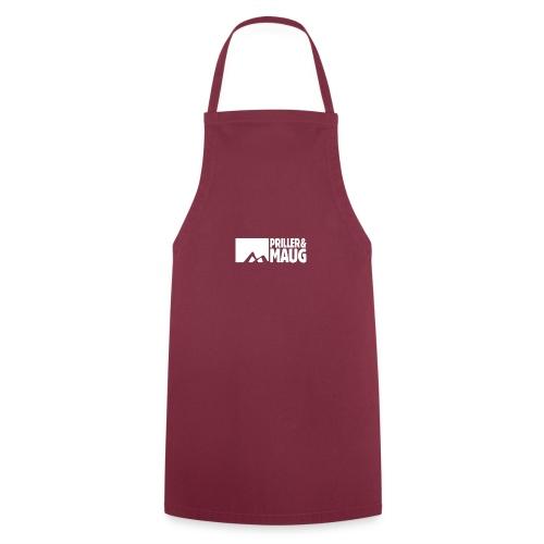 Priller&MAUG Logo WHT - Kochschürze