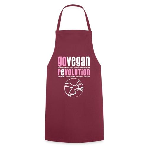 GO VEGAN REVOLUTION - Kochschürze