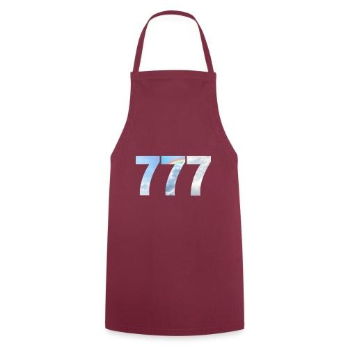 777 un nombre de chance et spirituel. - Tablier de cuisine