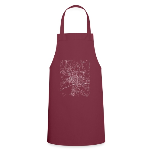 Minimal Tuscaloosa city map and streets - Cooking Apron