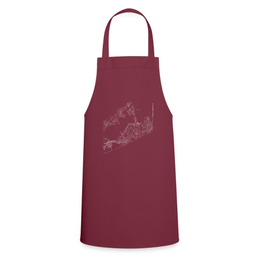 Minimal The Hamptons city map and streets - Cooking Apron