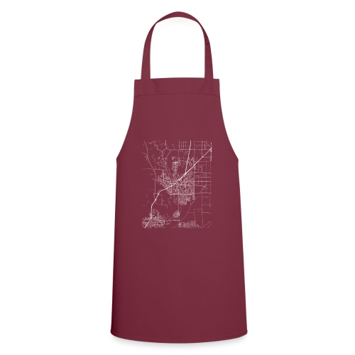 Minimal Vacaville city map and streets - Cooking Apron