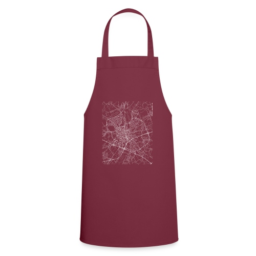 Minimal Ghent city map and streets - Cooking Apron