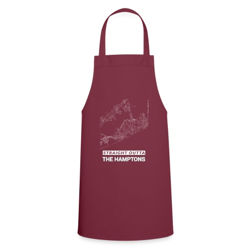Straight Outta The Hamptons city map and streets - Cooking Apron