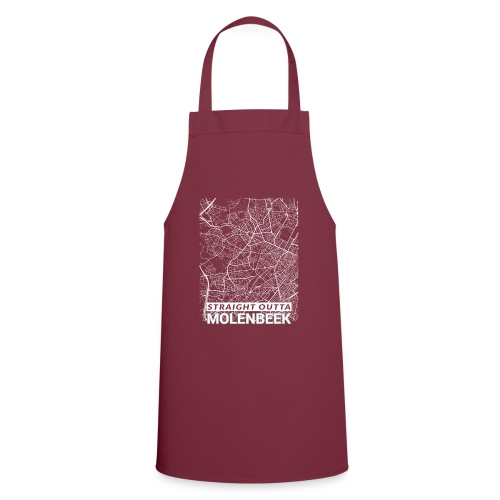 Straight Outta Molenbeek city map and streets - Cooking Apron