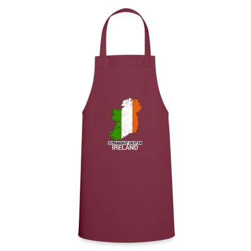 Straight Outta Ireland (Eire) country map flag - Cooking Apron