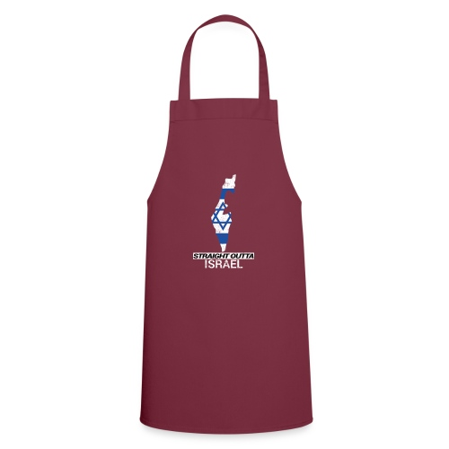 Straight Outta Israel country map & flag - Cooking Apron