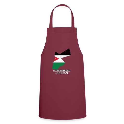Straight Outta Jordan country map - Cooking Apron