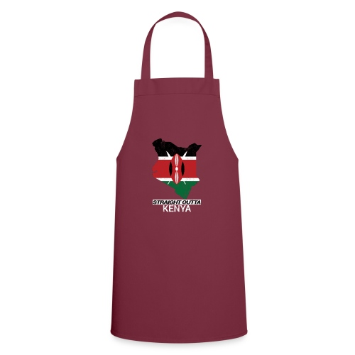 Straight Outta Kenya country map & flag - Cooking Apron