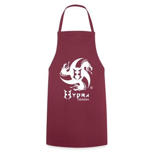 Hydra DESIGN - logo white - Grembiule da cucina