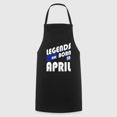 Legends April - Delantal de cocina