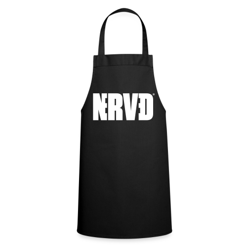 Official Nerved@ White Logotype - Cooking Apron
