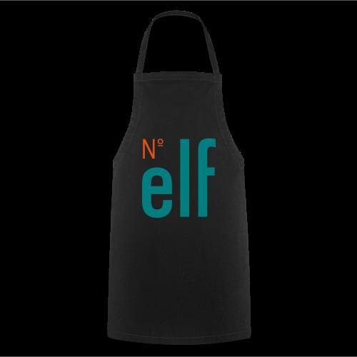 No. elf Logo - Kochschürze