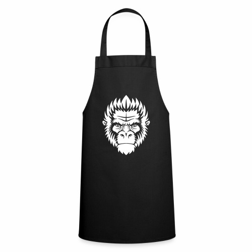 gorilla white - Tablier de cuisine