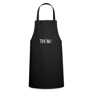 Slim, fit and thin, think being thin and healthy - Cooking Apron