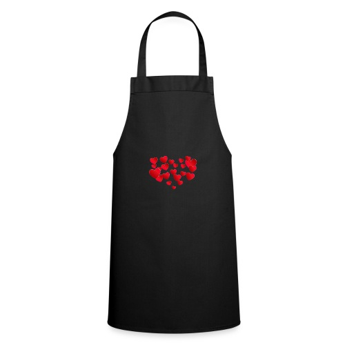 Heart T-Shirt - Cooking Apron