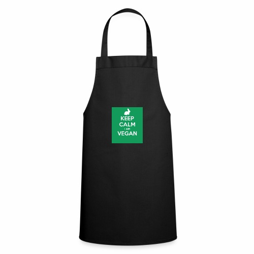 keep calm i am vegan 3 - Tablier de cuisine