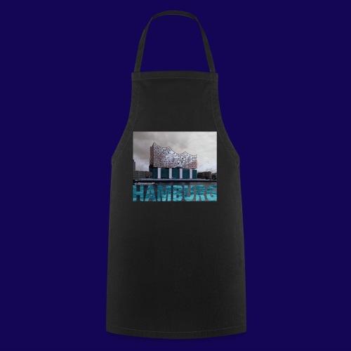 Elbphilharmonie | HAMBURG-Typo| Künstlermotiv - Kochschürze