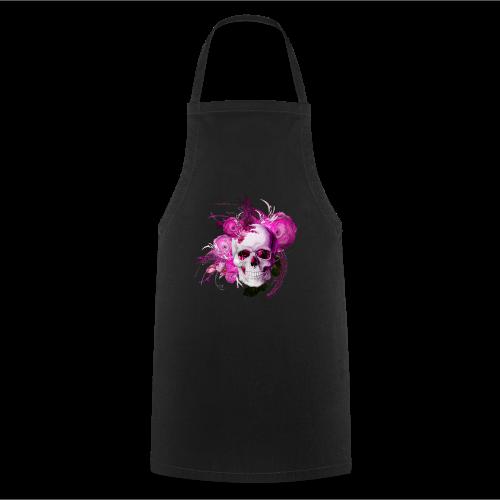 Pink fantasy skull - Förkläde