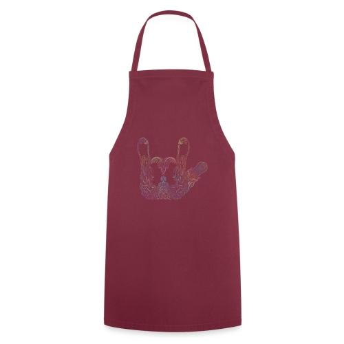 ILY Handzeichen Mandala - Kochschürze