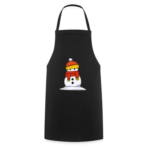 bonhome neige - Tablier de cuisine