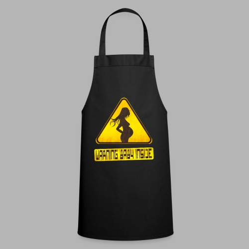 Warning baby inside - Cooking Apron