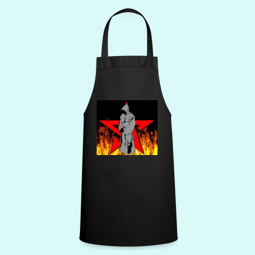 moine et pentagramme - Tablier de cuisine