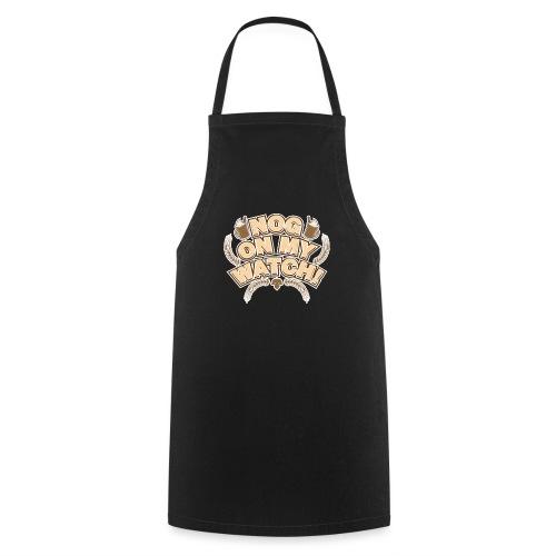 Winter Drink Eggnog Pun - Cooking Apron