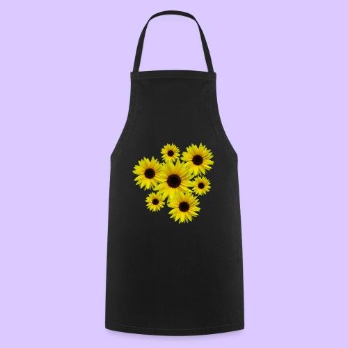 Sonnenblumenstrauß, Sonnenblumen, Blumen, Blüten - Kochschürze