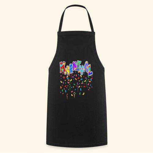 Karneval & Fasching Spaß Alt und Jung Party Shirt - Kochschürze