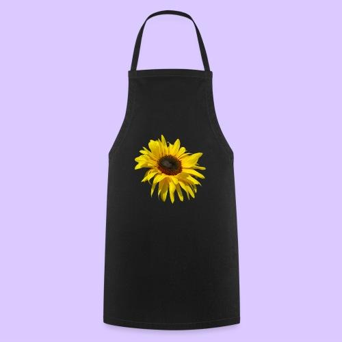 blühende Sonnenblume, Sonnenblumen, Blumen, Blüten - Kochschürze