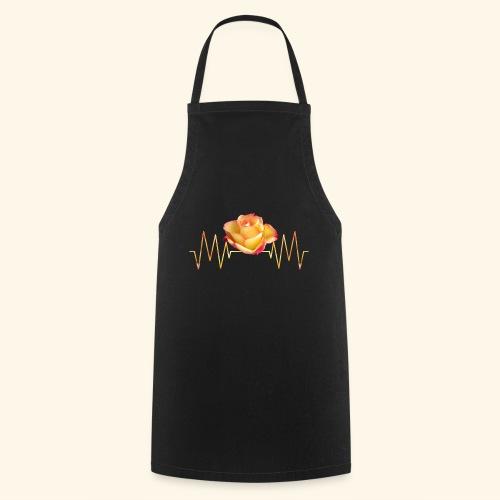 Rose, Herzschlag, Rosen, Blume, Herz, Frequenz - Kochschürze