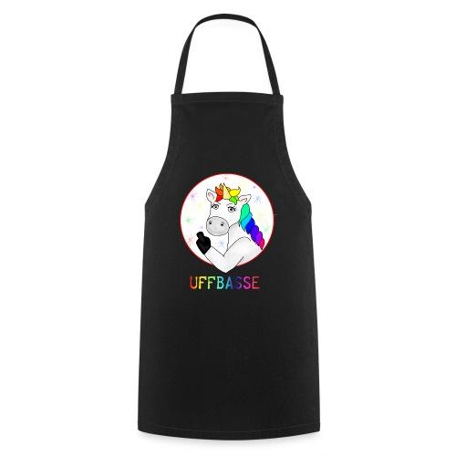 Einhorn Uffbasse | aufpassen Achtung - Kochschürze