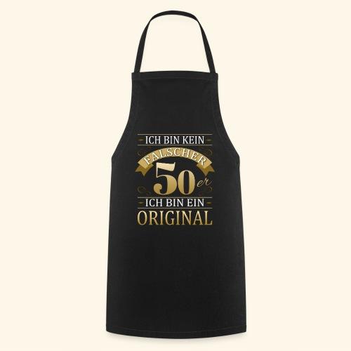 Falscher 50er 50. Geburtstaggeschenk 50 Original - Kochschürze