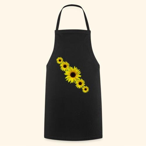Sonnenblume, Sonnenblumen, Blumen - Kochschürze